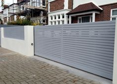 Image result for modern aluminum gate designs