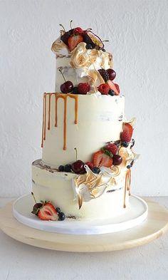 36 Rustic Wedding Cakes We Love