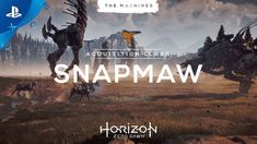 Horizon Zero Dawn - The Machines: Snapmaw | PS4 - http://gamesitereviews.com/horizon-zero-dawn-the-machines-snapmaw-ps4/