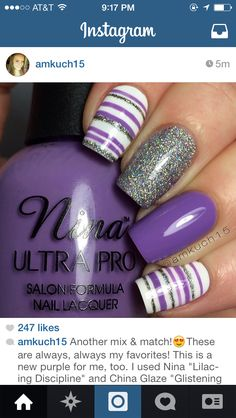 Purple nail options