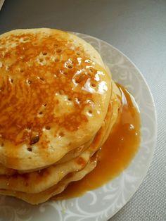 Pancakes au caramel au beurre salé |