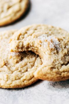 The Best Sugar Cookies - Soft & Chewy Chocolate Chip Shortbread Cookies, Chewy Sugar Cookies, Chocolate Chip Banana Bread, Cookies Et Biscuits, Chocolate Chips, Best Sugar Cookie Recipe, Cookie Recipes, Dessert Recipes, Desserts