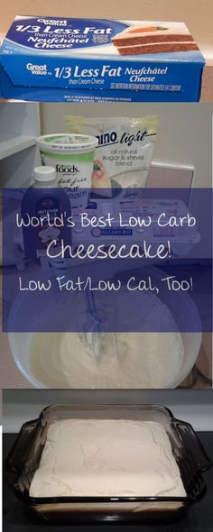 World's Best Low Carb Cheesecake Recipe