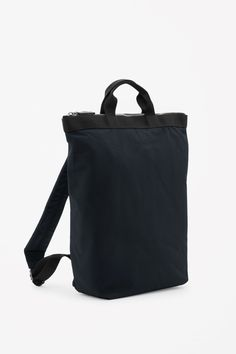 COS image 4 of Tote backpack in Black
