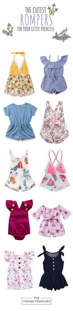 159415faf0a Toddler Girl Rompers (SALE + Free Shipping)