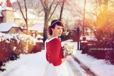 Una nota de color para las bodas de invierno