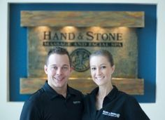 Tony and Brittany Rodgers are the owners of Hand & Stone Massage and Facial Spa at 4526 Research Forest Drive in The Woodlands.