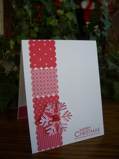 Diamond Snowflake by stampin'nana - Cards and Paper Crafts at Splitcoaststampers