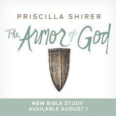 New Bible study by Priscilla Shrier. Just in time for fall study/small groups. lifeway.com/ArmorOfGod?CARID=ehyndman-launchteam-ArmorOfGodFamilyPage-072015  #ArmorOfGodStudy