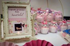 Elise's Butterfly Christening Party | CatchMyParty.com