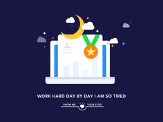 I Am So Tired by luking #Design Popular #Dribbble #shots