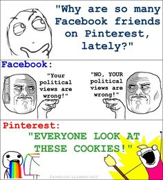 Essentially, yes! Pinterest > Facebook.