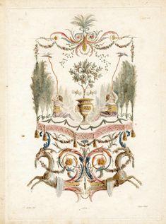 Nouvelle collection d'arabesques – Alexandre Lenoir 1810