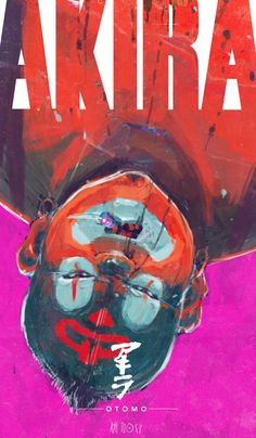 The Geeky Nerfherder: Cool Art: 'Akira' by Ash Thorp Illustrations, Illustration Art, Art Cyberpunk, Akira Anime, Manga Anime, Anime Art, Manga Covers, Comic Movies, Arte Popular