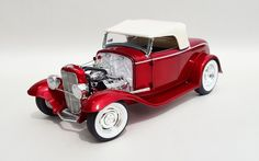 Diecast Auto World - ACME 1/18 Scale Grand National Deuce Series 1932 Ford Roadster Release 5 Red Diecast Car Model 1805010, $119.99 (http://stores.diecastautoworld.com/products/acme-1-18-scale-grand-national-deuce-series-1932-ford-roadster-release-5-red-diecast-car-model-1805010.html/)