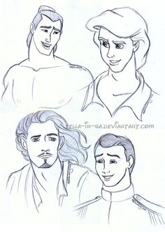 Portrait of a Hero: Sketch Dump 2 by ~Tella-in-SA on deviantART
