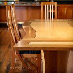 Wave Dining Table By Berkeley Mills Furniture