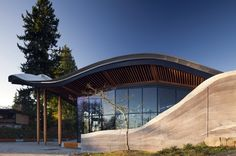 VanDusen Botanical Garden Visitor Centre | Vancouver | Canada | Sustainable Building of the Year 2014 | WAN Awards