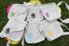 Hemp Frisbee Disc Golf Bag by Disqbag on Etsy, $25.00