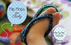 Infradito per bebè - Step bt Step tutorial-