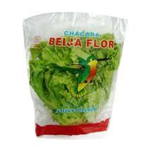 Alface crespa orgânica BEIJA-FLOR pacote