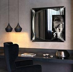 「fiam」mirror,size W108 D12 H108 cm 「Tom dixon」lamp,size Ø24 H30 cm