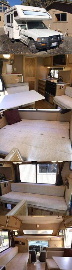 Classic Toyota Class C RV North American Classifieds - 1990 Odyssey by Americana Auto Motorhome For Sale by Owner in Bend, Oregon. Toyota Motorhome, Class C Rv, Diy, Ideas, Bricolage, Do It Yourself, Thoughts, Homemade, Diys