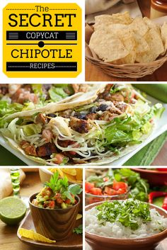 The Best-Ever Chipotle Copycat Recipes