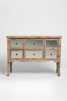6-Drawer Mirrored Dresser