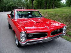 66 GTO, my mom owned this in black.