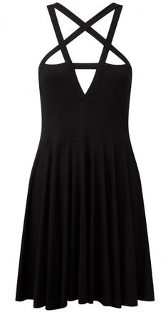 It must be the power of the pentagram, because we absolutely needed the Magi Skater Dress. No questions.