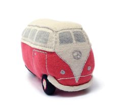 Just in for the Holidays: the VW bus! www.oeufnyc.com