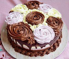 Tort cu trei tipuri de mousse, în trei culori - Rețete Merișor Something Sweet, Mousse, Wedding Cakes, Food And Drink, Desserts, Romania, Recipes, Wedding Gown Cakes, Tailgate Desserts