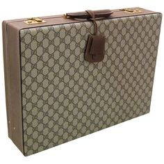 Vintage Gucci  Double G Briefcase...this would give me a reason to carry around a briefcase....