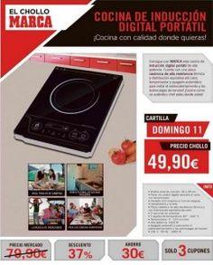 ¡Hazte con la Cocina de Inducción Digital Portátil de Marca! Sigue el enlace si quieres saber más: http://ofertasdeprensa.offertazo.com/cocina-induccion-digital-portatil-marca/