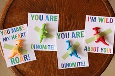 40+ Cute Valentine Ideas for Kids - Dinosaur Valentine's