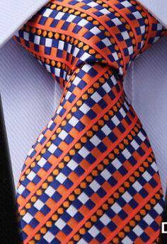 Stripe PLAID NECKTIES Dot Gravata Check Brand 100% Silk Jacquard Woven Classic Man's Tie Necktie Tie And Pocket Square, Pocket Squares, Suit Shoes, Manly Man, Tie Styles, Neck Ties, Sharp Dressed Man, Bowties, Suit And Tie