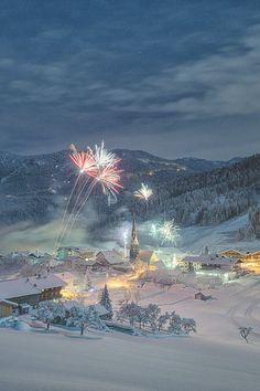 Mountain Village, Austria by Stefan Thaler