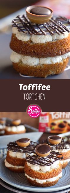 Sallys Toffifee Törtchen – Mini Cakes & Cupcakes & Muffins - To Have a Nice Day Cupcakes For Dogs Recipe, Easy Chocolate Cupcake Recipe, Cupcake Recipes For Kids, Kid Cupcakes, Chocolate Recipes, Cupcake Cakes, Kids Birthday Cupcakes, Dessert Recipes, Tarte Caramel