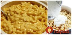 To je nápad! Tofu, Macaroni And Cheese, Food And Drink, Ethnic Recipes, Twitter, Chemistry, Mac Cheese, Mac And Cheese