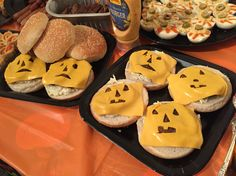 Ghostly Halloween Burgers