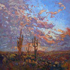 Les tableaux style impressionnistes des parcs naturels de Erin Hanson - http://www.dessein-de-dessin.com/les-tableaux-style-impressionnistes-des-parcs-naturels-de-erin-hanson/