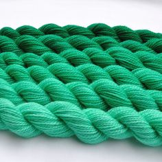 Seaforest Green Gradated Yarn Set by colorshiftyarn on Etsy, $59.10