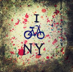 Painting inspired by #CitiBike #NewYork more available at www.2ArtOfficial.com/buy