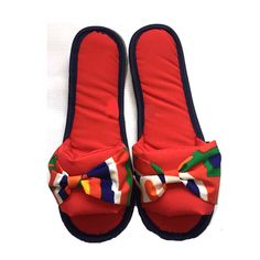 Red Khayameya Slippers by Shib Square. Now available at TheGiftery.com! For more information call 01221103868 (Sunday- Thursday 9:30 am to 5:30 pm) Ramadan 2016, Ramadan Gifts, Thursday, Egypt, Projects To Try, Sunday, Slippers, Detail, Unique