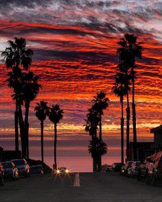 "@igworldclub_sunset on Instagram: ""present L O C A T I O N 🇺🇸 Oceanside California USA P H O T O @throughcarmenslens S E L E C T E D @diokaminaris F E A T U R E D T A G…"" Temple City, Serenity, Around The Worlds, Skyline, California, Fire, Sunset, Outdoor, Instagram"