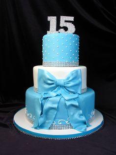 Marvelous Photo of 15 Birthday Cake 15 Birthday Cake Quinceanera Cake Birthday Blue Tiffany Blue Bow Ribbon 15th Birthday Cakes, Creative Birthday Cakes, Birthday Cakes For Teens, Homemade Birthday Cakes, Birthday Cupcakes, 15 Birthday, Birthday Ideas, Sweet 16 Cakes, Cute Cakes
