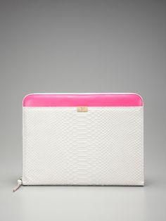 Diane von Furstenberg  Zip Around Laptop Case