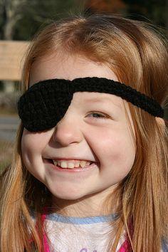 patron bandeau de pirate au crochet (en anglais)