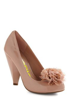 Certainly Taupe So Heel - Aww, these are like those vegan Natalie Portman shoes I missed out on! Sorta.